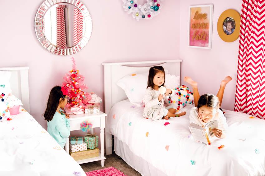 holiday kids bedroom target pillow fort bedding