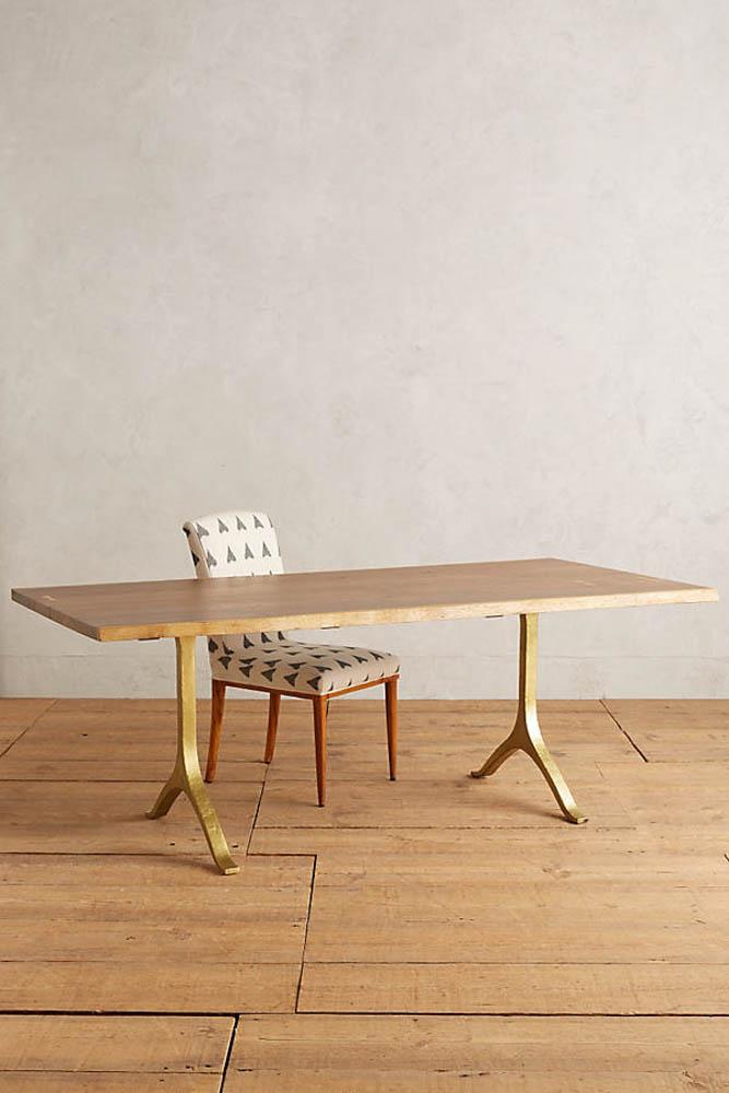 anthropologie nemus dining table