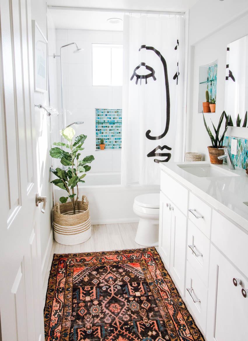 How to Blend a Vintage Rug into your Home - Anita Yokota