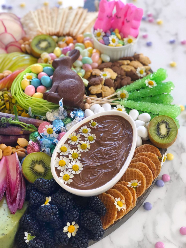 meg Quinn easter cheese board