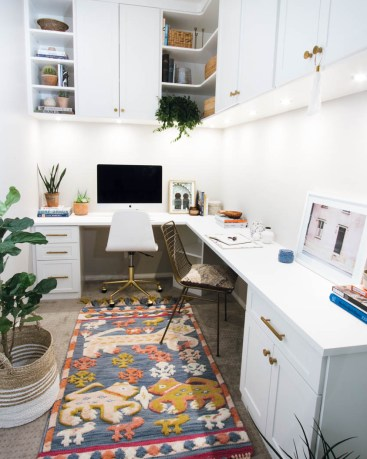 The Only Way to Maximize Your Small Office Space is Up