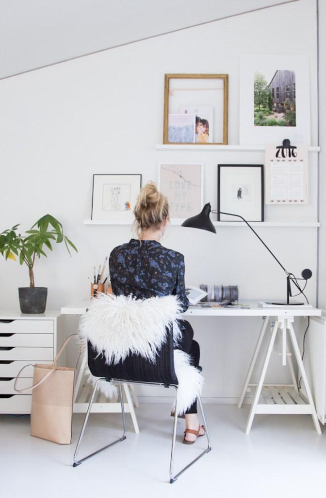 Niki Brantmark my scandinavian home work space inspo
