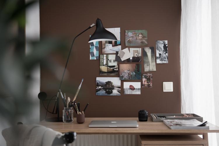 Niki Brantmark my scandinavian home work desk mood board