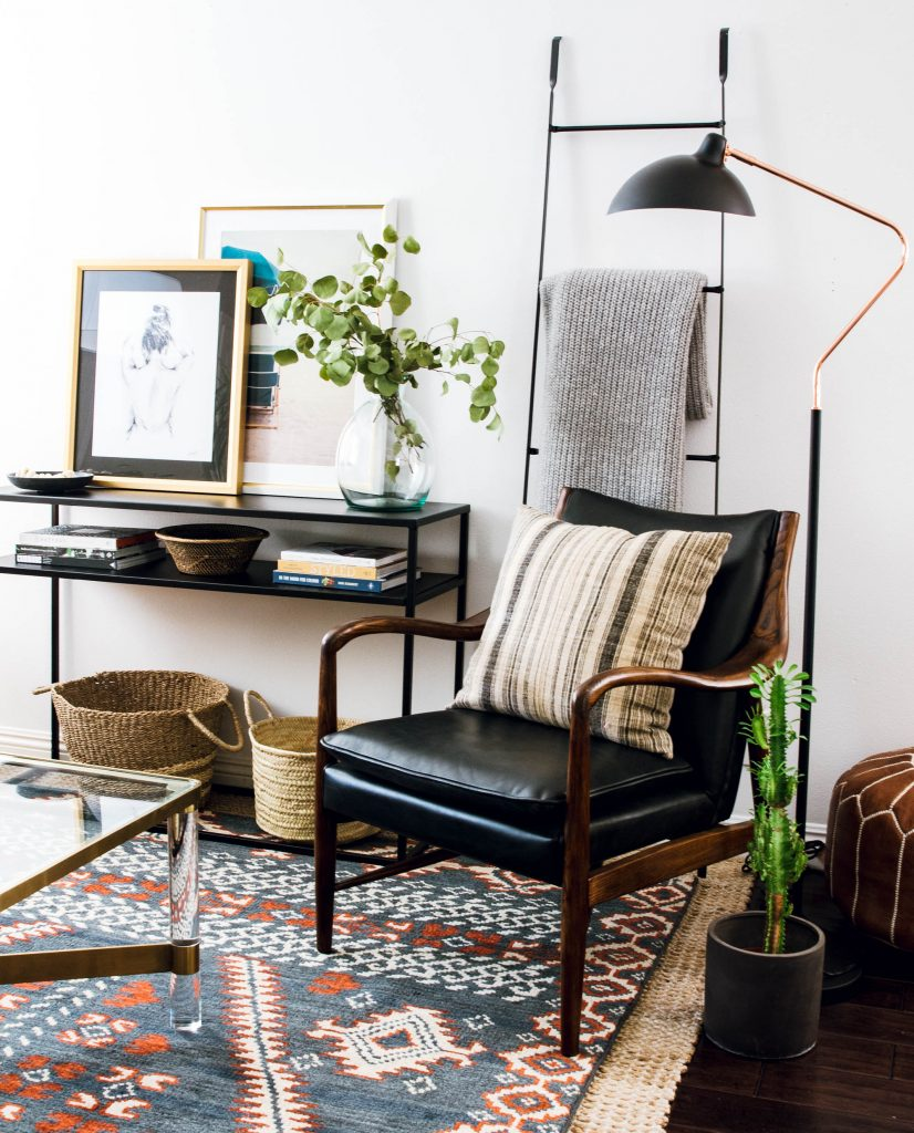 scandinavian cabin rejuvenation eclectic style article lamp target console six penny sofa