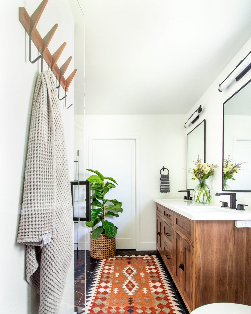 Anita Yokota Method mid century dream bathroom