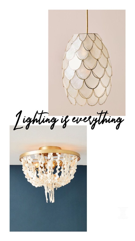 Anthropologie home and decor sale 2019 lighting