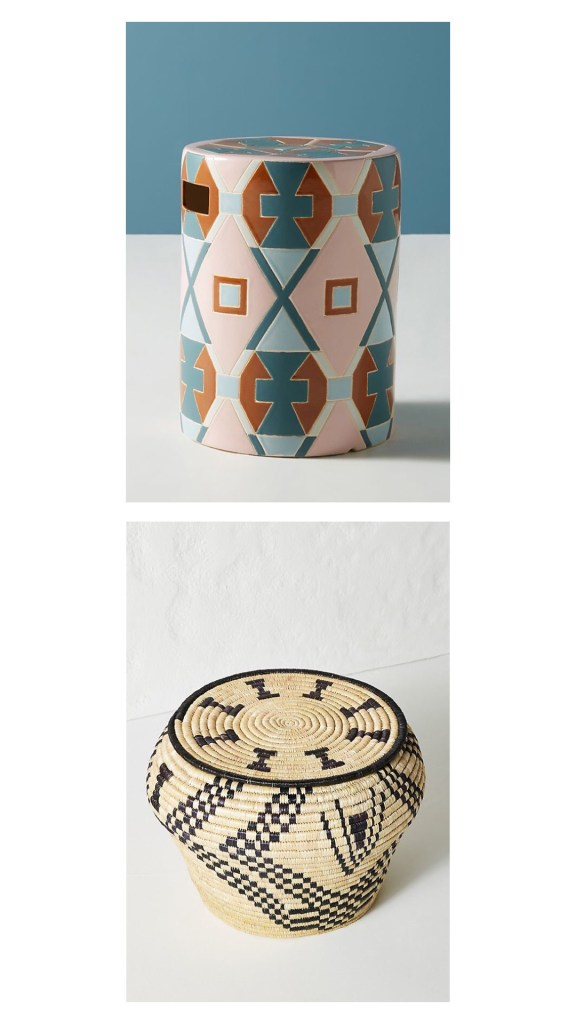 Anthropologie side tables
