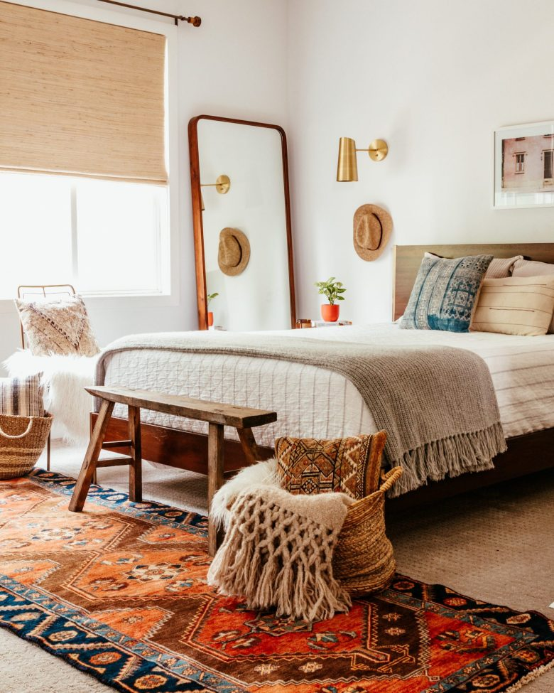 Anita Yokota method bedroom furniture boho style decor