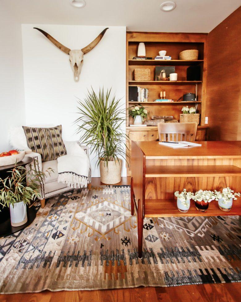 Anita Yokota Method office makeover Sherwin Williams paint white