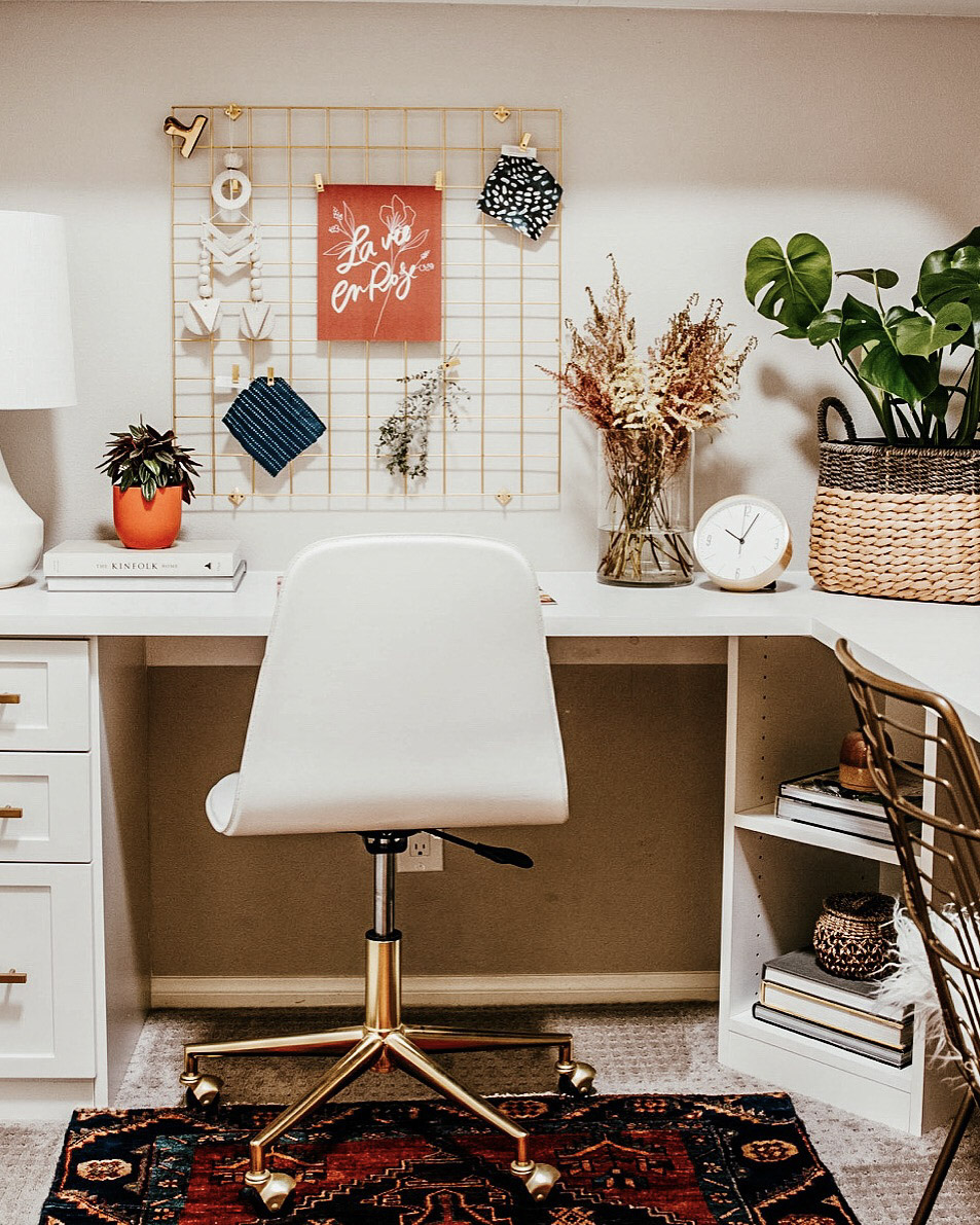 Clean, quiet, distraction-free workspace for back to (home)school