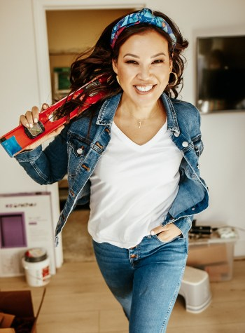 Anita, leaping into home improvement ACTION