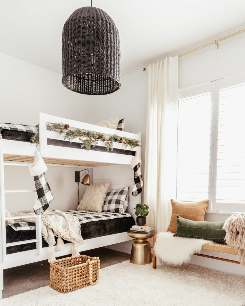 Rely on bedding to help set the tone!