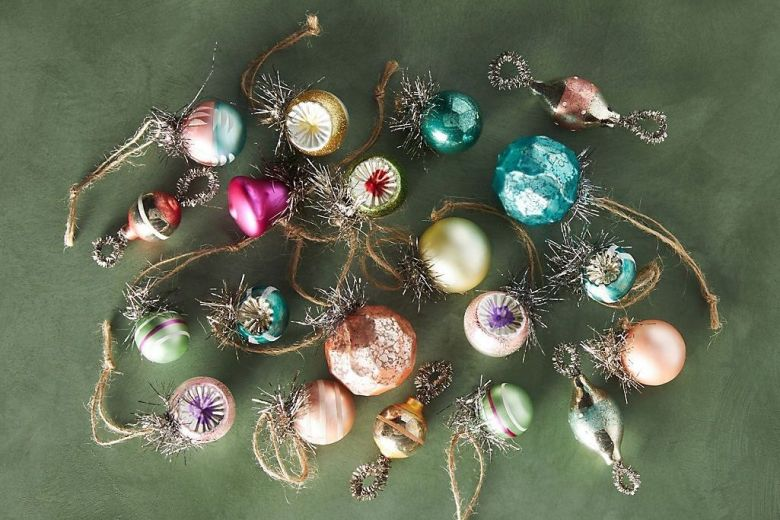 Ornaments from Anthropologie