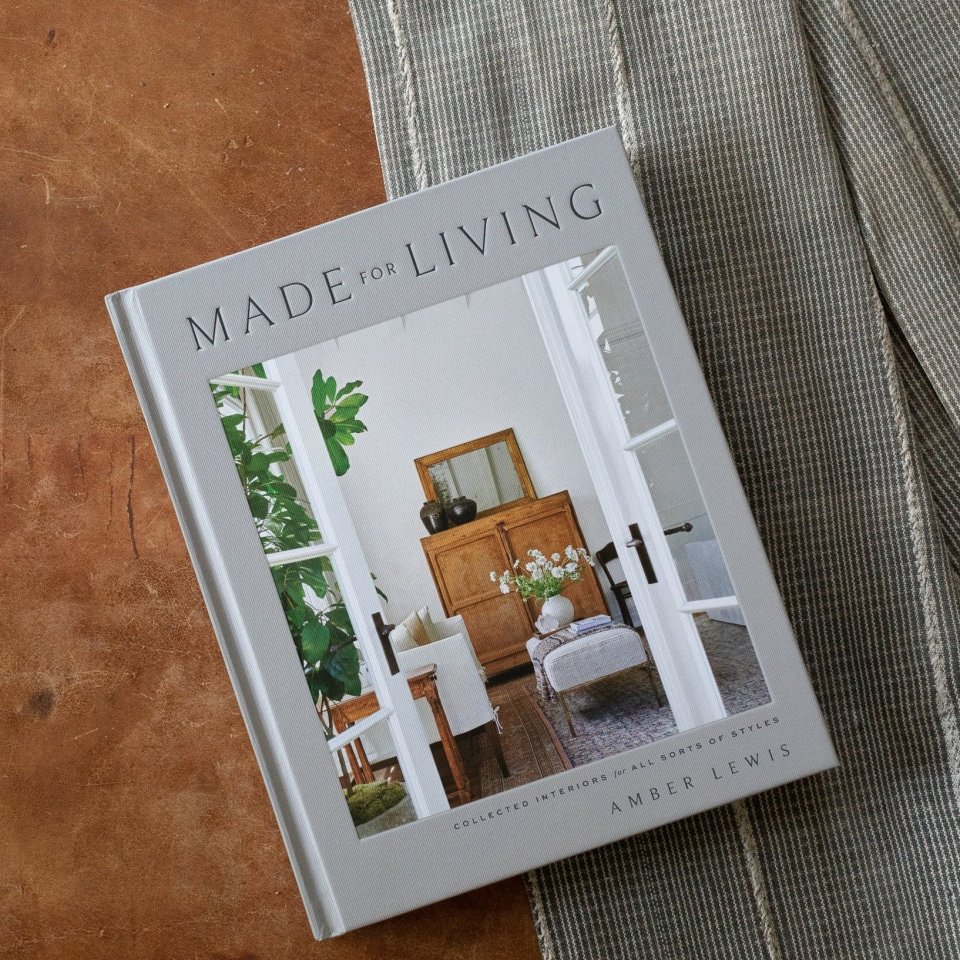 Made for Living Coffee Table book