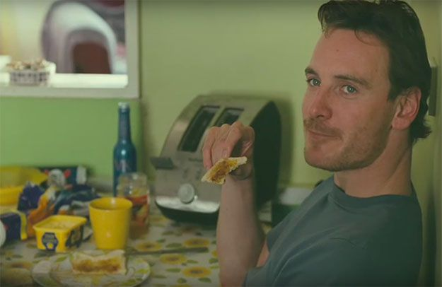 Be warned, Fassbender fans: Michael does not play a nice guy in this film.