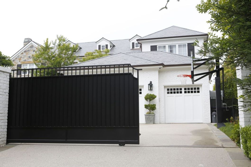 James' home in Los Angeles.