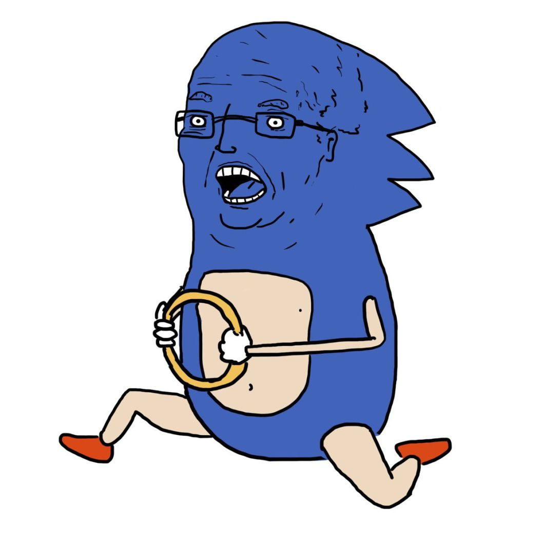 i have drawn the trump administration as sonic the hedgehog and i am