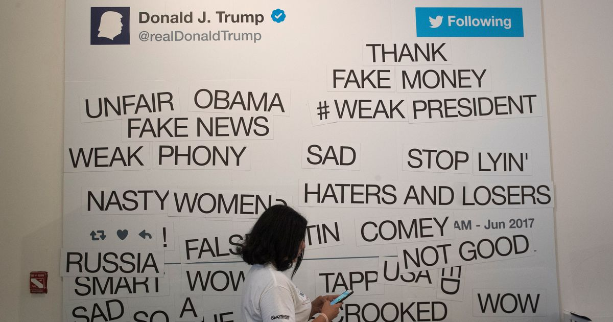 Trump posts body slam video after defending his modern trump posts body slam video after defending his modern presidential twitter claim malvernweather Choice Image