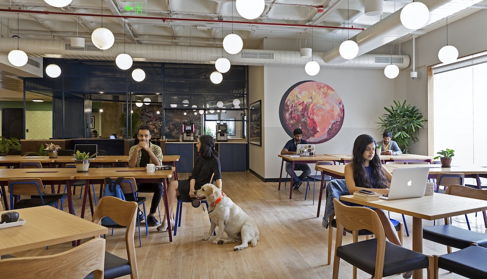 Co Working Behemoth Wework Strides Into India S Silicon
