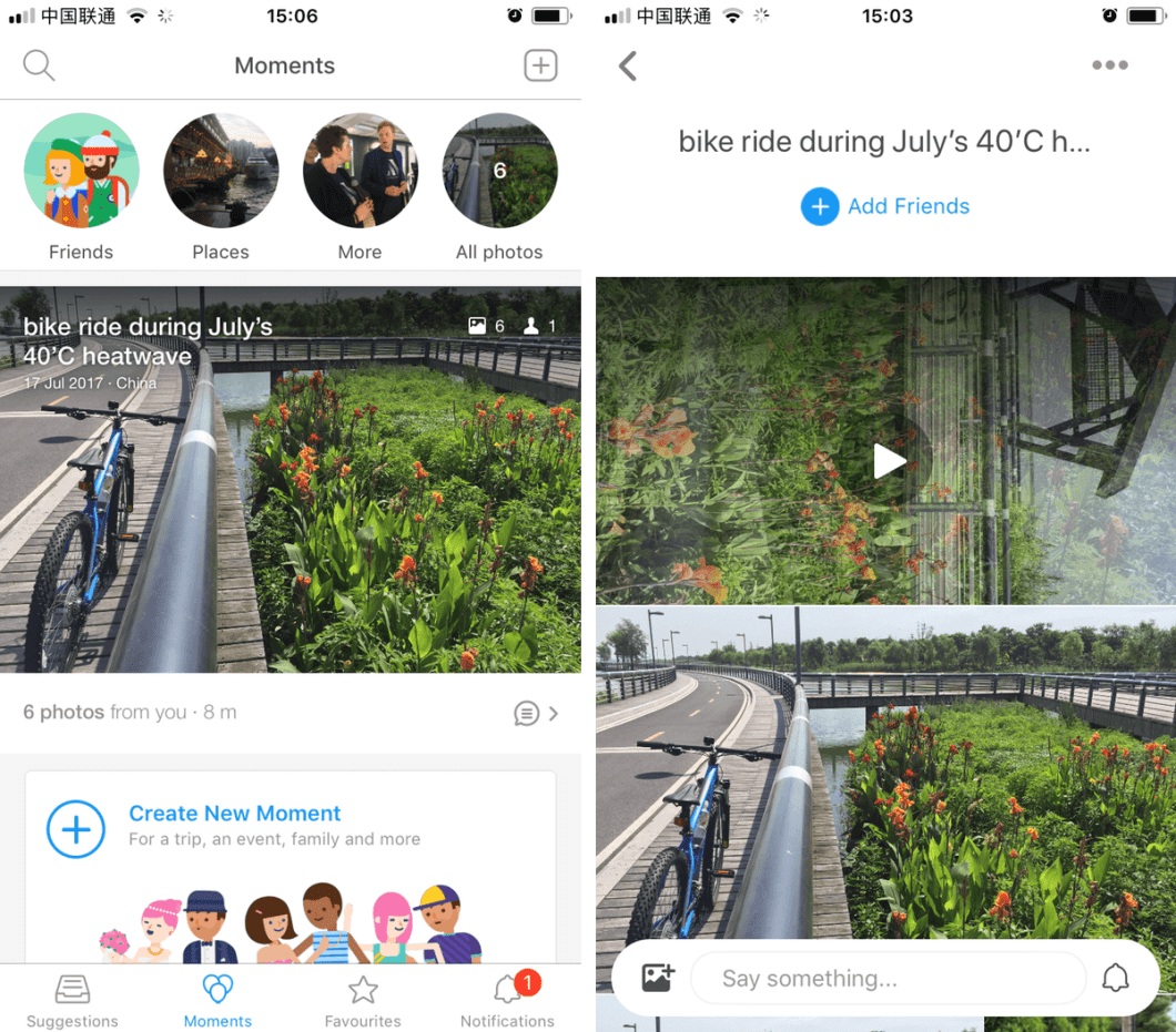 Facebook's Colorful Balloons app for China