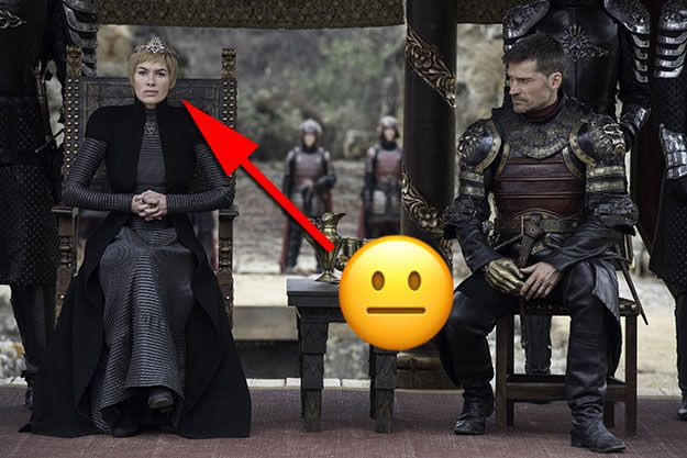 Cersei just can't wait to welcome her new guests to King's Landing.