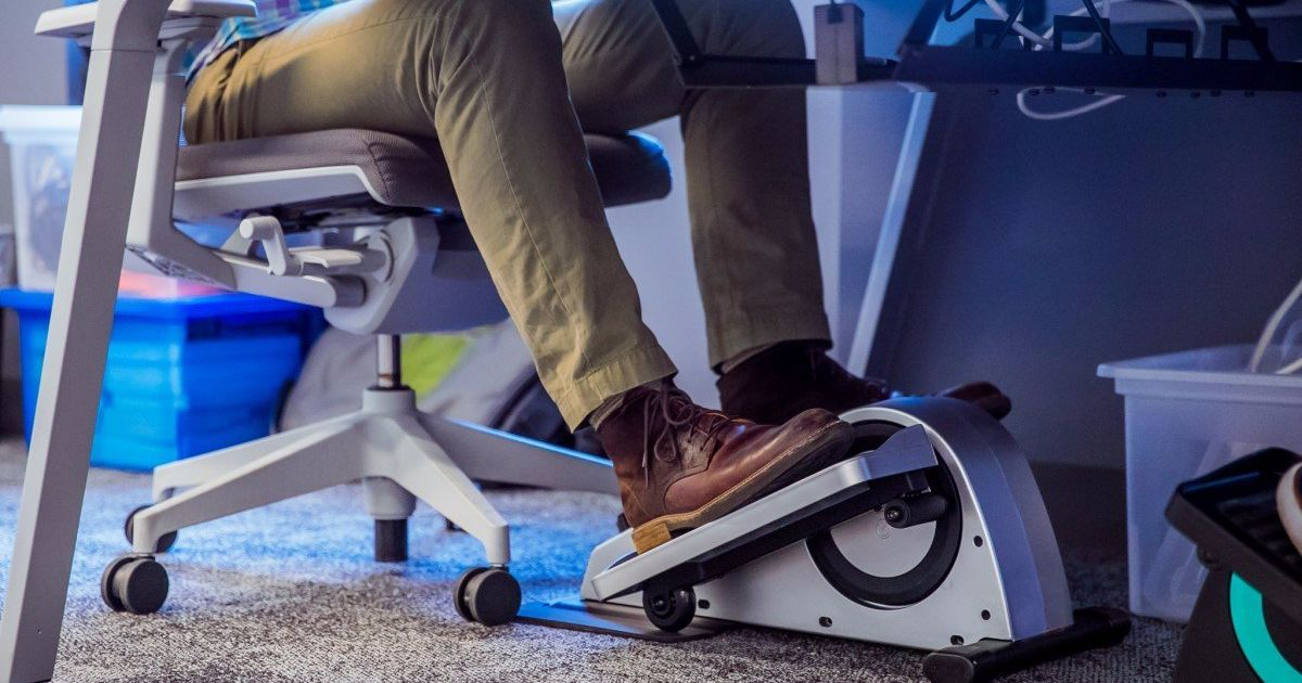 Stay Fit While At Work Using An Under The Desk Elliptical