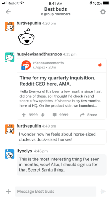Reddit launches new mobile apps with support for real-time comments