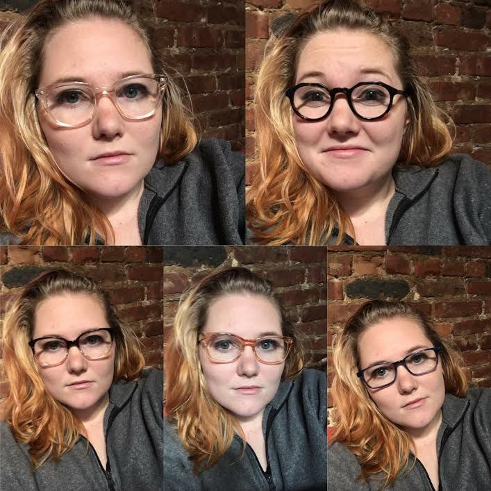 fb51d48ed111 Pick out five frames that you're interested in and Warby Parker will ship  them to you for free. I highly recommend the Laurel in Tea Rose ...