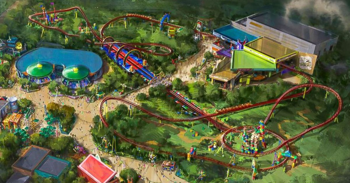 Toy Story Land Is Coming To Disney World This Summer Anith