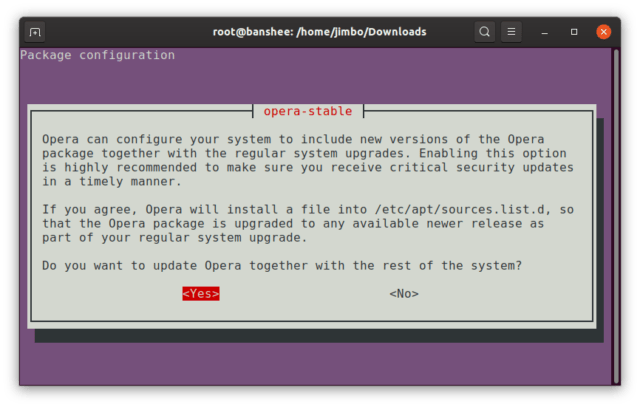 Take note, everybody: this is the correct way to package and distribute third-party software from your own repository to Debian-derived distros.