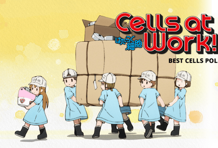 Cells at Work! Best Cell Poll Now Live on Anime Trending!