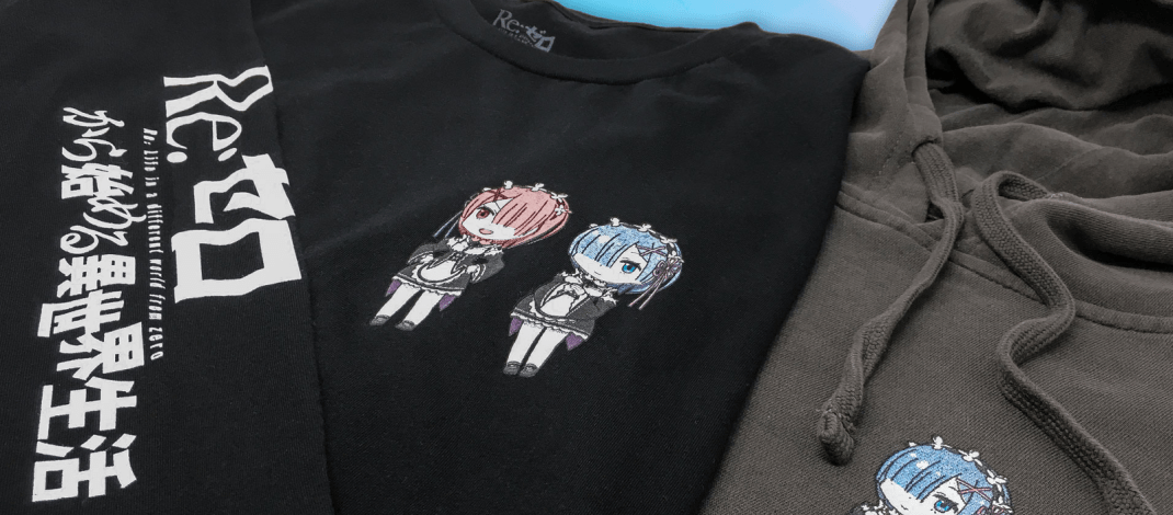 Crunchyroll Launches Stylish Re:Zero Apparel Collection