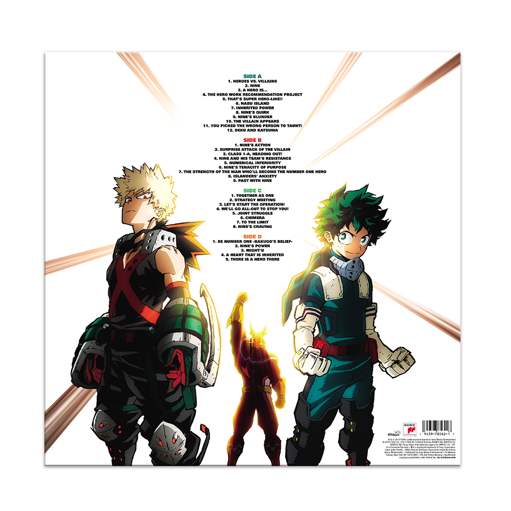 My Hero Academia Heroes Rising Track List Anime Trending Your Voice In Anime