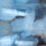 Abstract Blue 90 x 120 x  2