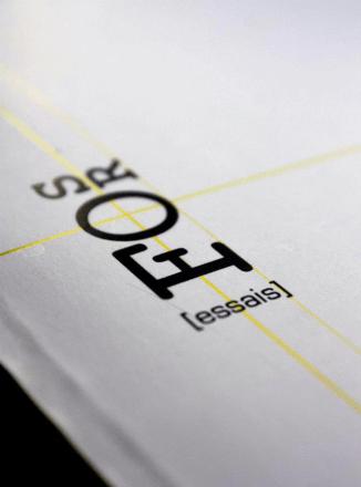 Create a logo +template for a future book of a collection of essays. *Team leader, group project. // Création d'un logo et d'une maquette d'un recueil d'essais. Capitaine d'équipe, projet en groupe // Université Laval, 2012, Québec.