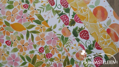 "Designpapier in Set ""Obstgarten"" #141660"