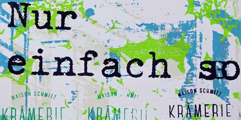 Nur einfach so, Krämerei, Trier