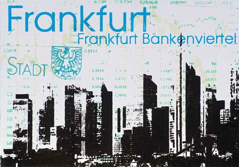 Frankfurt am Main Bankenviertel