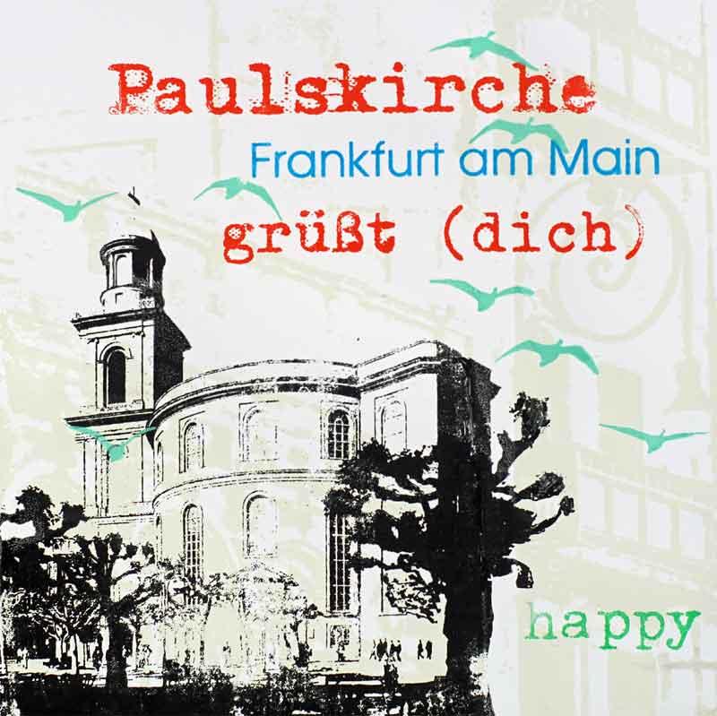 Frankfurt am Main Quadrat Paulskirche