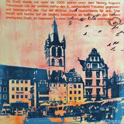 Trier Hauptmarkt Holz