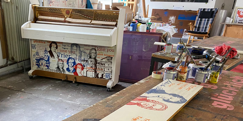 My Urban Piano, Trier