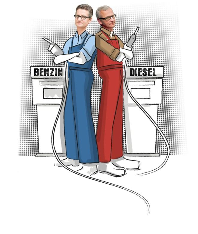Diesel vs. Benzin
