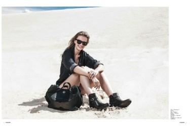 Photographer Alexander Zuber Fashion Editor COCO TIGLER DEESE Hair & Make-Up ANJA KIESELBACH Mode FRANZISKA AT WOLF MODELS Photo Assistent NIELS HARDMANN
