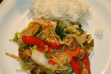 70. Schnell und gesund-Gemüse aus dem Wok