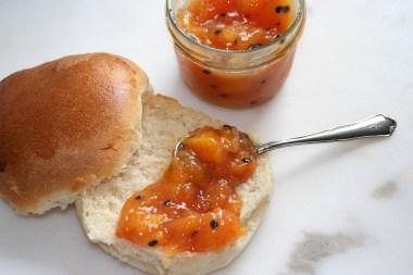 127.Pfirsich/Maracuja Marmelade