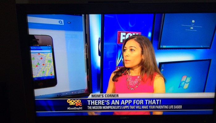 Must Have Apps For Parents – Fox 5 TV Segment