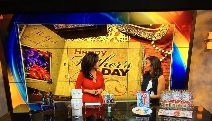 Fox 5 Mother's Day TV Segment