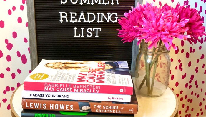 Summer Reading List – Business, Productivity & Spirituality Book Recs