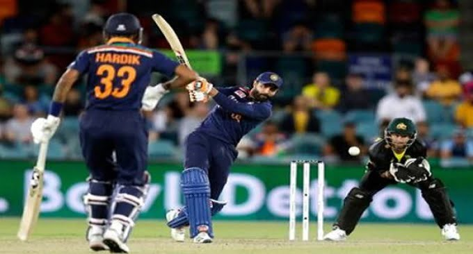 India Beat Australia by 11 Runs in the First T20