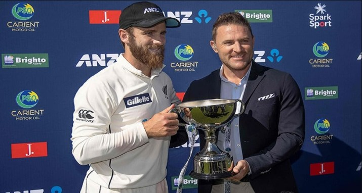 Clean sweep against Pakistan New Zealand became the world number one Test team